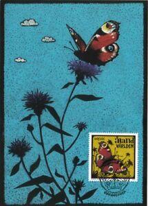 Tattoo Artist Amanda Chanfreau Butterfly Sepac Aland Finland Mint Maxi FDC 2013