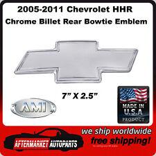 2005-2011 Chevrolet HHR Chrome Bordered Aluminum Bowtie Rear Emblem AMI 96004C