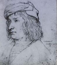Martin, Servant of the Fuggers, Hans Holbein the Elder,Magic Lantern Glass Slide