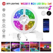 5M WS2811 RGB LED Strip Kit Bluetooth Music Controller Smart App Control DC 12V