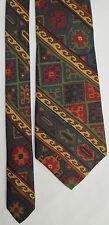 -AUTHENTIQUE cravate cravatte neuve FACONNABLE  100% soie   vintage