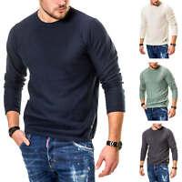 Jack & Jones Herren Strickpullover Pullover O-Neck Basic Longshirt Longsleeve %