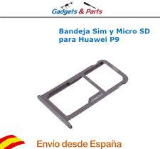 Bandeja Soporte Sim y Micro SD para Huawei Ascend P9 Gris - Nueva !!!