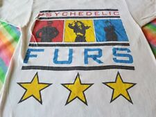 the PSYCHEDELIC FURS VINTAGE CONCERT NORTH AMERCIAN TOUR SHIRT 1987 NICE MEDIUM