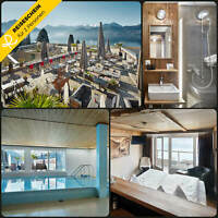 Kurzurlaub Schweiz Vierwaldstättersee 4 Tage 2 Personen Hotel Hotelgutschein