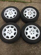 OEM 1994 - 2000 Mercedes W202 C280 C220 C230 C36 Original Rim WHEEL Tire 4 piece