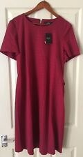 NEXT Red Tailored Dress Size 18 Bnwt Formal Occasion