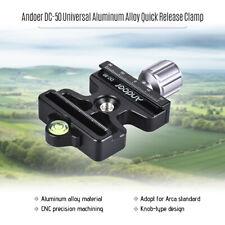 Andoer DC-50 Professional Universal Aluminum Alloy Quick Release Clamp Q8G9