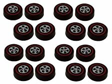 16 Brightvision Redline Wheels – 16 Large Size Bright Chrome Cap Style Wheels