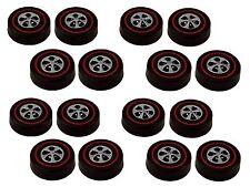 16 Brightvision Redline Wheels – 16 Large Size Bright Chrome Cap Style Wheels