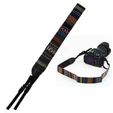 Vintage Camera Shoulder Neck Strap Belt For SLR DSLR Nikon Canon Sony Panasonic