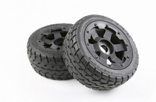 Front Onroad wheels and Tyres x 2pc fit 1/5 RC HPI rovan km baja 5B rc car parts