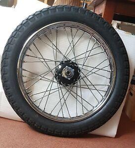 BSA 1939-1948 19in QD Rear wheel and tyre