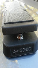 'joe-sonic' wah'BEATER' colorsound/ musonic inspired awesome gagan design.