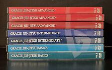 GRACIE Jiu-Jitsu DVD Lot BASICS INTERMEDIATE ADVANCED RARE