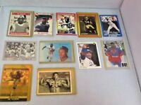 Bo Jackson Collector's Cards Set of 11 Football and Baseball