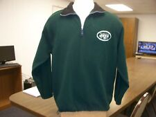 NY Jets NFL Team Apparel Adult Medium Stitched Game Day Jacket