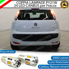 COPPIA LAMPADE PY21W CANBUS 35 LED FIAT PUNTO EVO FRECCE POSTERIORI NO ERROR