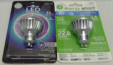 GE LED Dimmable Indoor 35w Compatible 180 Lumens Light Bulb w/ GU-10 Socket Base