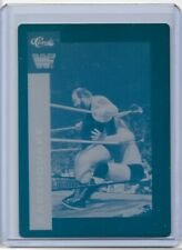 1 of 1 EARTHQUAKE 1991 CLASSIC CARDS PRINTING PRESS PLATE WRESTLING WWE WF 1/1