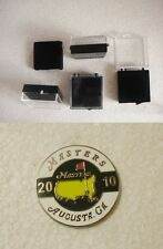 U.S. MASTERS 2010  WON BY PHIL  MICKELSON  GOLF BALL MARKER & CASE