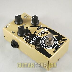 """AMT Electronics HR-1 """"Heater"""" - JFET overdrive / booster guitar pedal"""