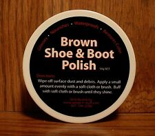 BROWN ~ Boot & Shoes ~ The BEST made Polish for coloring and Shinning!