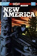 New America #1-4 autographs Ostrander, Yale, Kwapisz