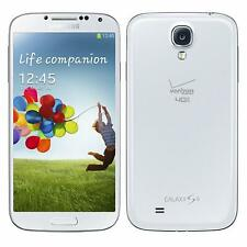 Verizon Samsung Galaxy S4 SCH-I545 16GB Android 4G LTE White Smart Cell Phone