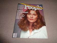 People - March 28, 1977 - Faye Dunaway Cover