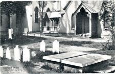 COOPERSTOWN NY – Cooper's Grave - udb (pre 1908)