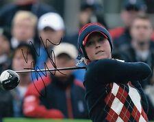 MORGAN PRESSEL signed LPGA *WOMENS* GOLF 8X10 photo W/COA SOLHEIM CUP MASTERS #2