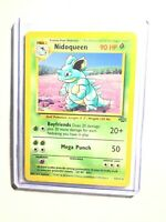 NIDOQUEEN - 23/64 - Jungle - Rare - Pokemon Card - NM