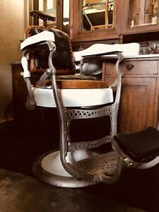 Friseurstuhl Barber Chair  Herren Friseur Antik ( Koken, belmont siehe Shop)