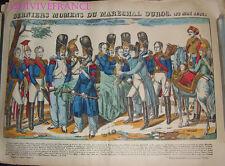 DERNIERS MOMENS DU MARECHAL DUROC (22 Mai 1813) IMAGE D'EPINAL PELLERIN NAPOLEON