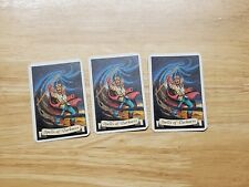 HeroQuest Wizards Of Morcar Spells of Detection Cards x 3 (Full Set) MB Games