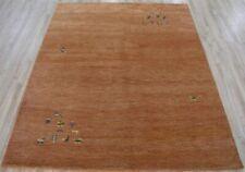 New Finest Hand-knotted Dense Wool 6'X8' Gabbeh modern Oriental area rug
