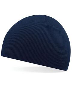 Mens / Ladies Knitted Wooly Beanie Hat Warm Winter Ski Skull Cap Unisex Ski Wear