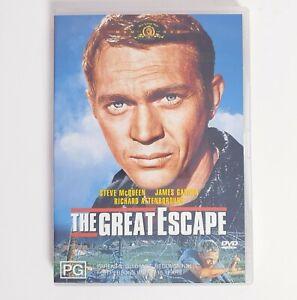 The Great Escape DVD Movie Region 4 AUS Free Postage - Action Steve McQueen