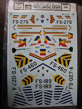 1/72  VINTAGE MICROSCALE DECAL N°203 F-84G THUNDERJETS #2 DECALCOMANIES