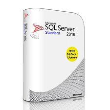 Microsoft SQL Server 2016 Standard Edition SP2 | 16 Core License