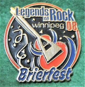 2008 BRIER CURLING WINNIPEG MANITOBA BRIERFEST Lapel Pin Mint
