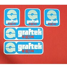 Exxon Graftek  full set of decals vintage
