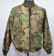Duxbak Camouflage 2XL Jacket  Real Tree Hunting Zip Up Closure