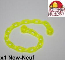 Lego 4x brique ronde brick round open stud 1x1 trans neon green fluo 3062b NEUF