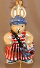 """Christopher Radko """"Messenger of Love"""" Hoppy Vander Hare Ornament"""