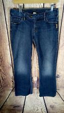 Silver Tina Boot Cut Womens Jeans 30 Waist 33 Length Dark Distressed