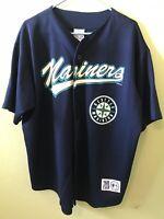 Seattle Mariners Ken Griffey Genuine Merchandise By True Fan XL Vintage Jersey