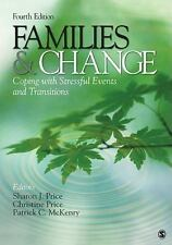 Families & Change: Coping With Stressful Events and Transitions-ExLibrary