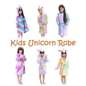 Kinderbademantel atmungsaktiver und bequemer leichter Pyjama mit Tiermotiven